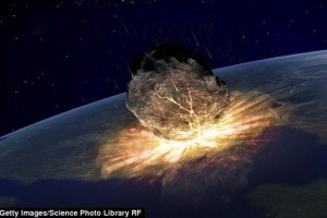 """2015年9月小行星来袭导致""""世界末日""""?"""